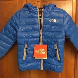 Boys North Face Jacket 3/4 T
